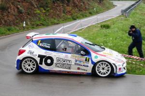 Perego-Floris, con una Peugeot 207 S2000, al Rally Elba 2012