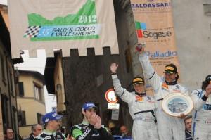 Arrivo del Rally del il Ciocco 2012