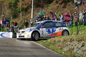 Rudy Michelini al Renault Rally Event 2012