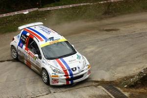 Perico-carrara in azione al 36° Rally Il Ciocco