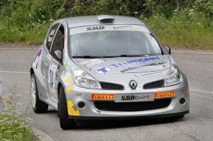 Rovatti-Bosi, con una Renault Clio R3, 2° Ronde del Monteregio