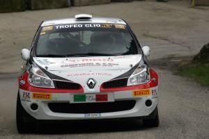Tognozzi-Pinelli in azione al 36° Rally Il Ciocco
