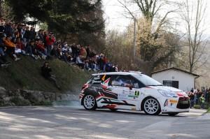 Simone Campedelli al 35° Rally Il Ciocco