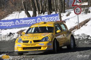 Matteo Luise alla 7° Ronde Valtiberina