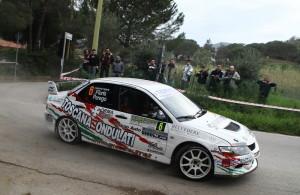 Perego-Floris in azione al Rally Elba 2013