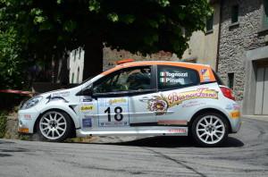 Togni in azione al Rally della Valdinievole 2012
