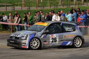 Matteucci-Castiglioni in azione al 20° Rally del Taro