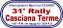 31° Rally Casciana Terme