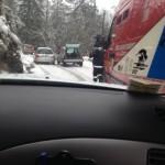 Le difficoltà nel salire sul Col de Turini