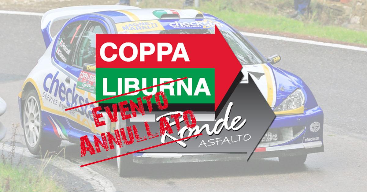 Annullato il Rallyday Coppa Liburna Asfalto 2016