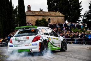 Bettini al Rallye Elba 2016