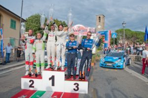 PODIO RALLY REGGELLO 2016