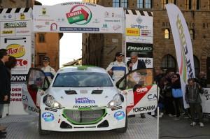 Mauro Trentin, Alice De Marco (Peugeot 208 T16 R5 #01, Power Car Team)